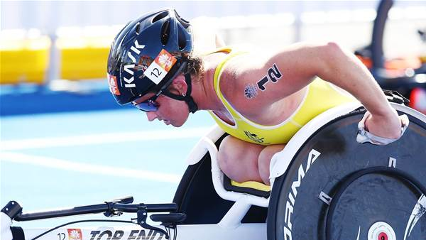 Parker wins first Paratriathlon World Cup gold
