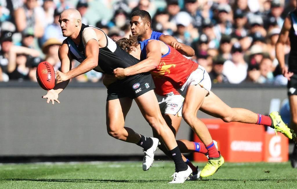 Port Adelaide midfielder accused of lewd bar incident