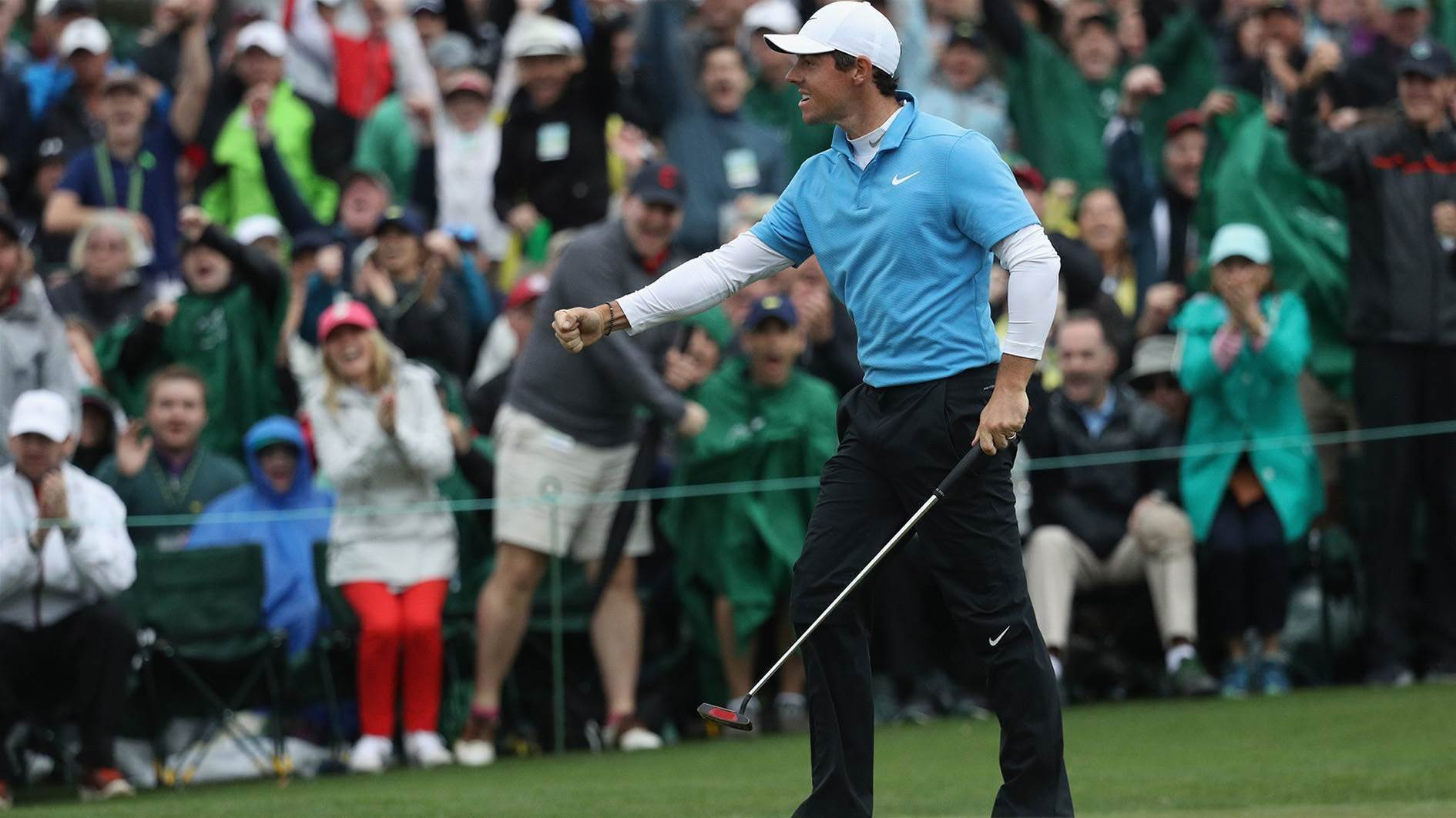 "McIlroy fires Masters salvo: ""All the pressure is on Patrick Reed."""