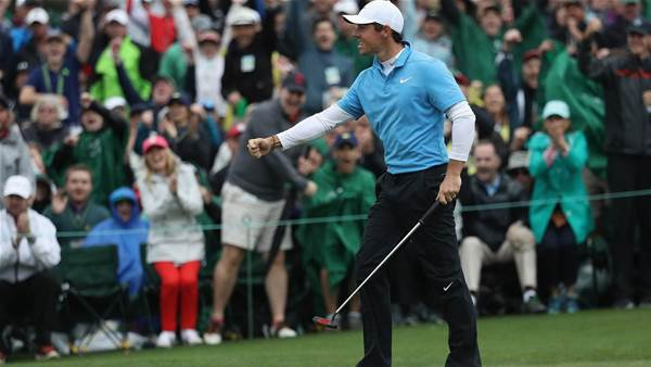 """McIlroy fires Masters salvo: """"All the pressure is on Patrick Reed."""""""