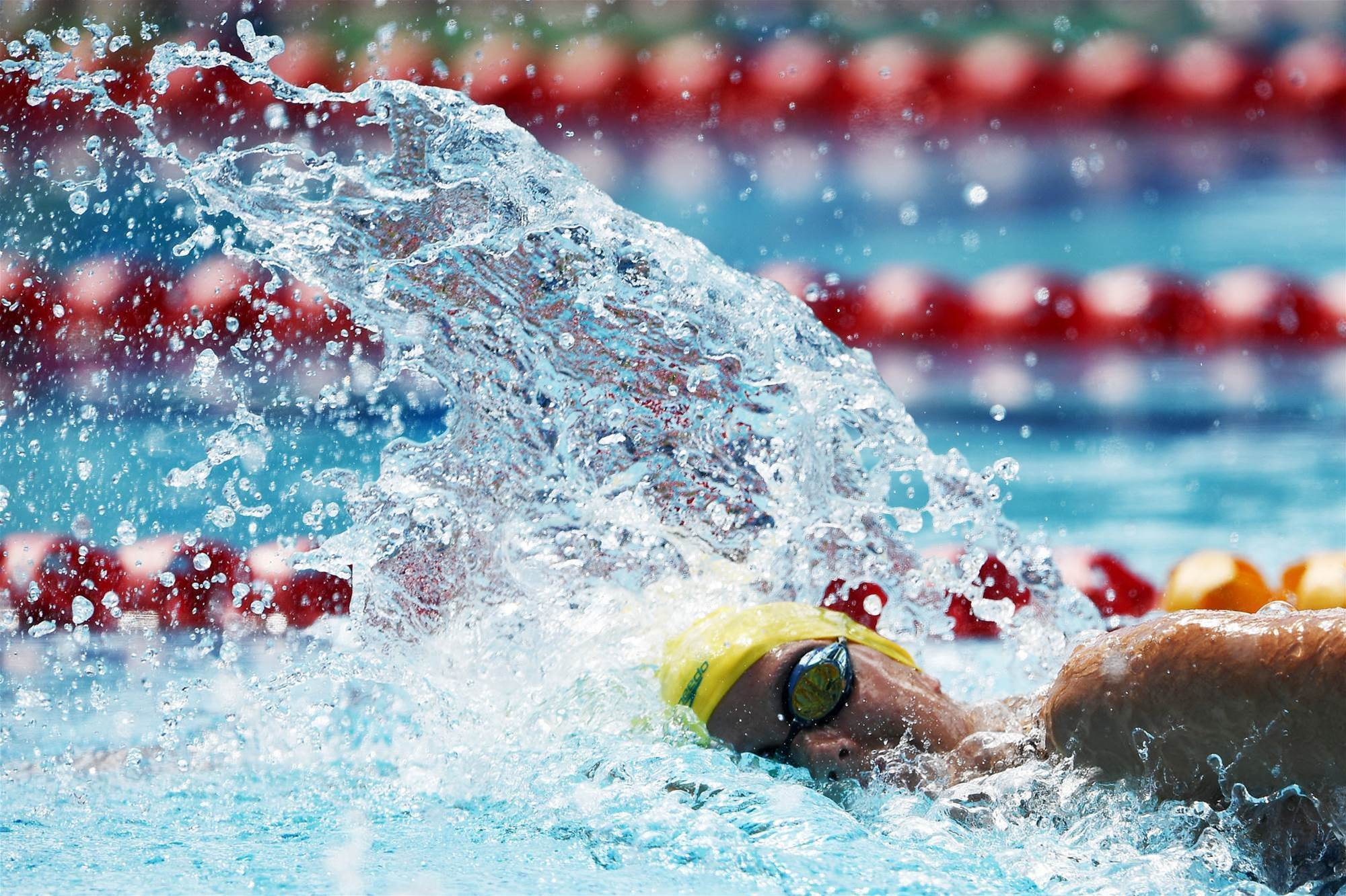 Para swimmers kick-off Pan Pacs with 13 golds