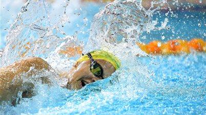 "Australian swimmer returns ""adverse test result"""