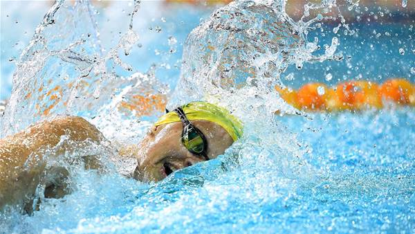 "Australian swimmer returns ""adverse test result"""