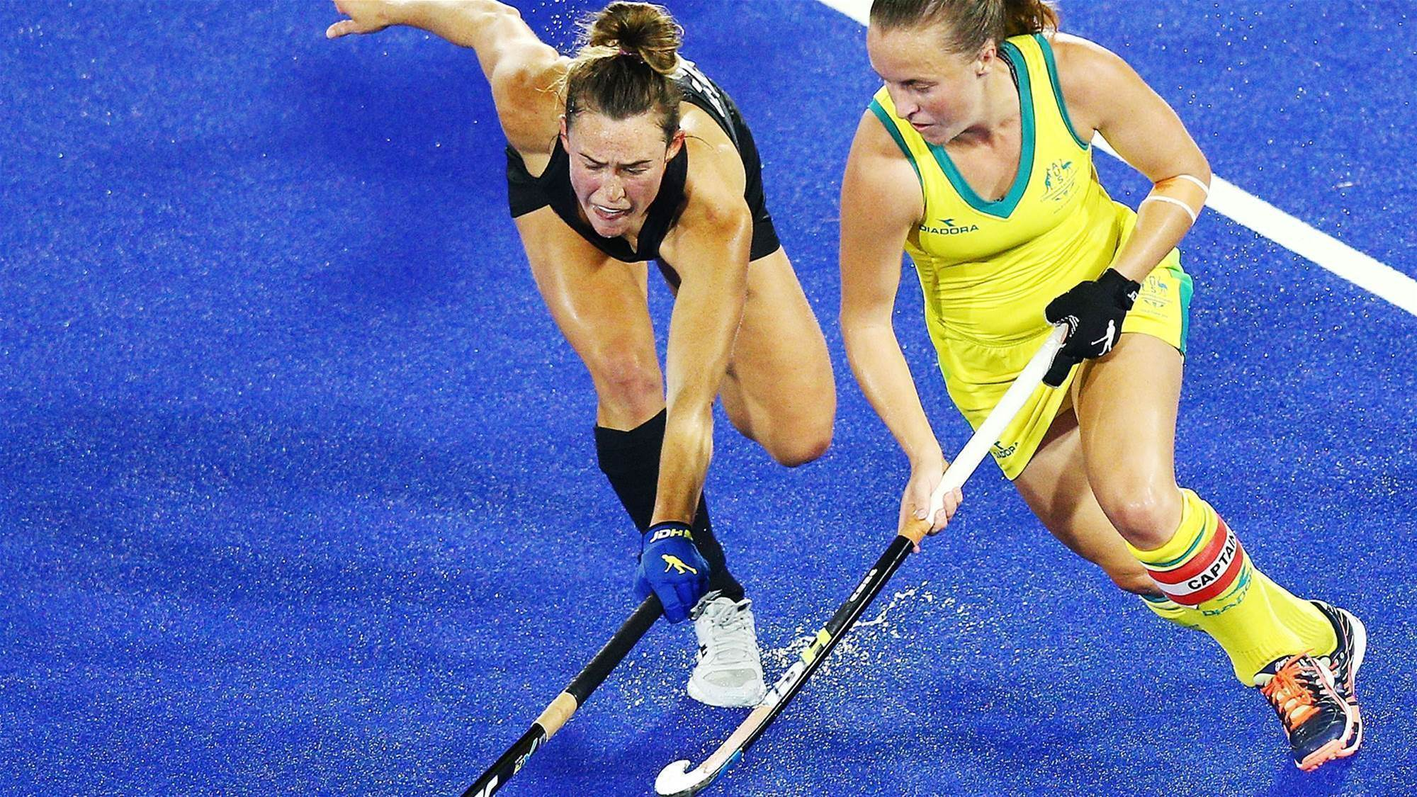 Youthful Hockeyroos to learn lessons from Games loss