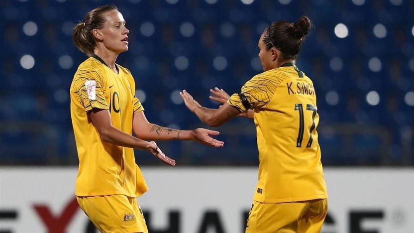 Our favourite Matildas moments: Kyah Simon & Emily Van Egmond