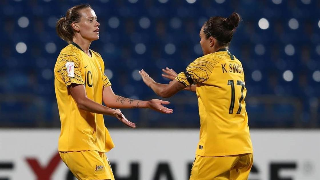 Our favourite Matildas moments: Kyah Simon & Emily Van Egmond
