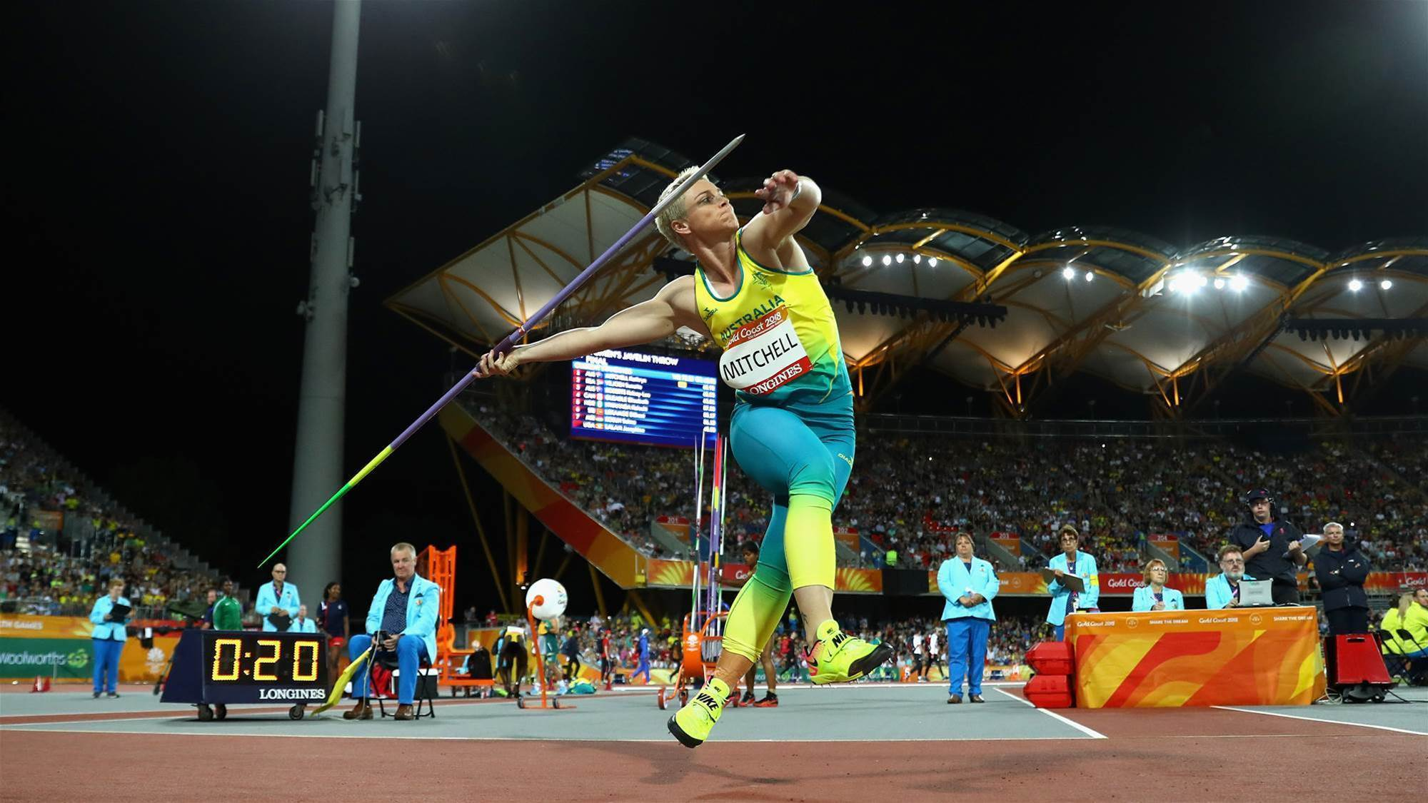Emotional gold for Mitchell