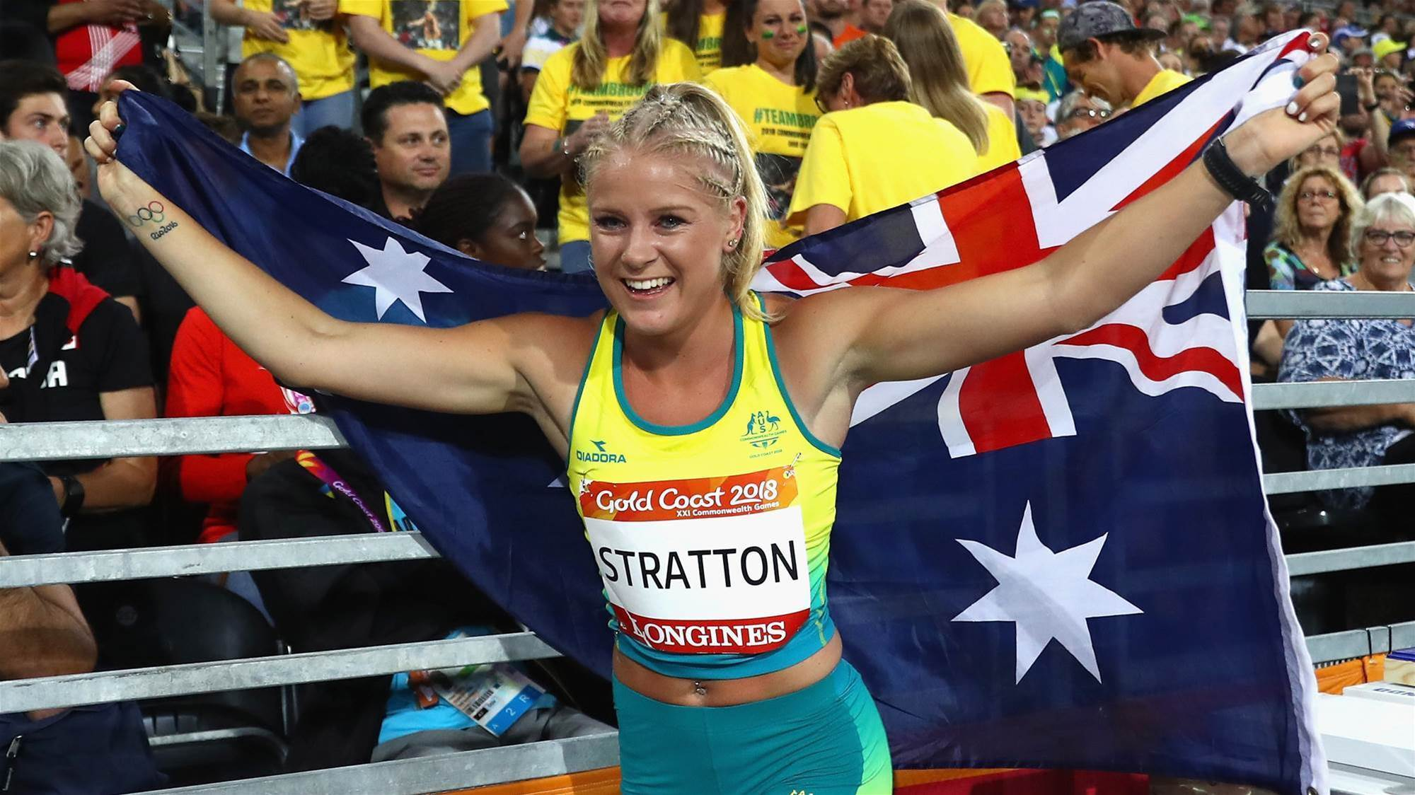 "Stratton: ""It was so special"""