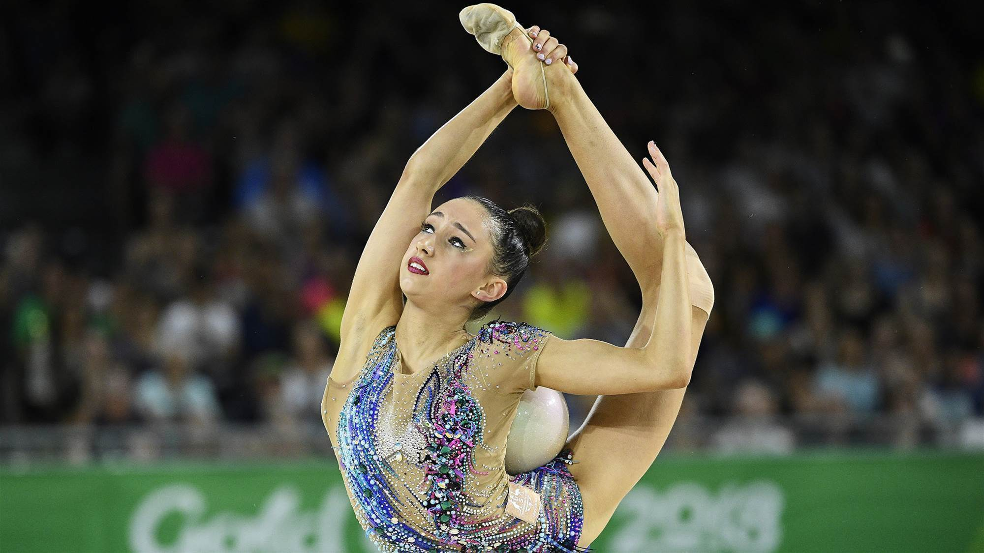 Whirlwind adventure for young Aussie gymnast