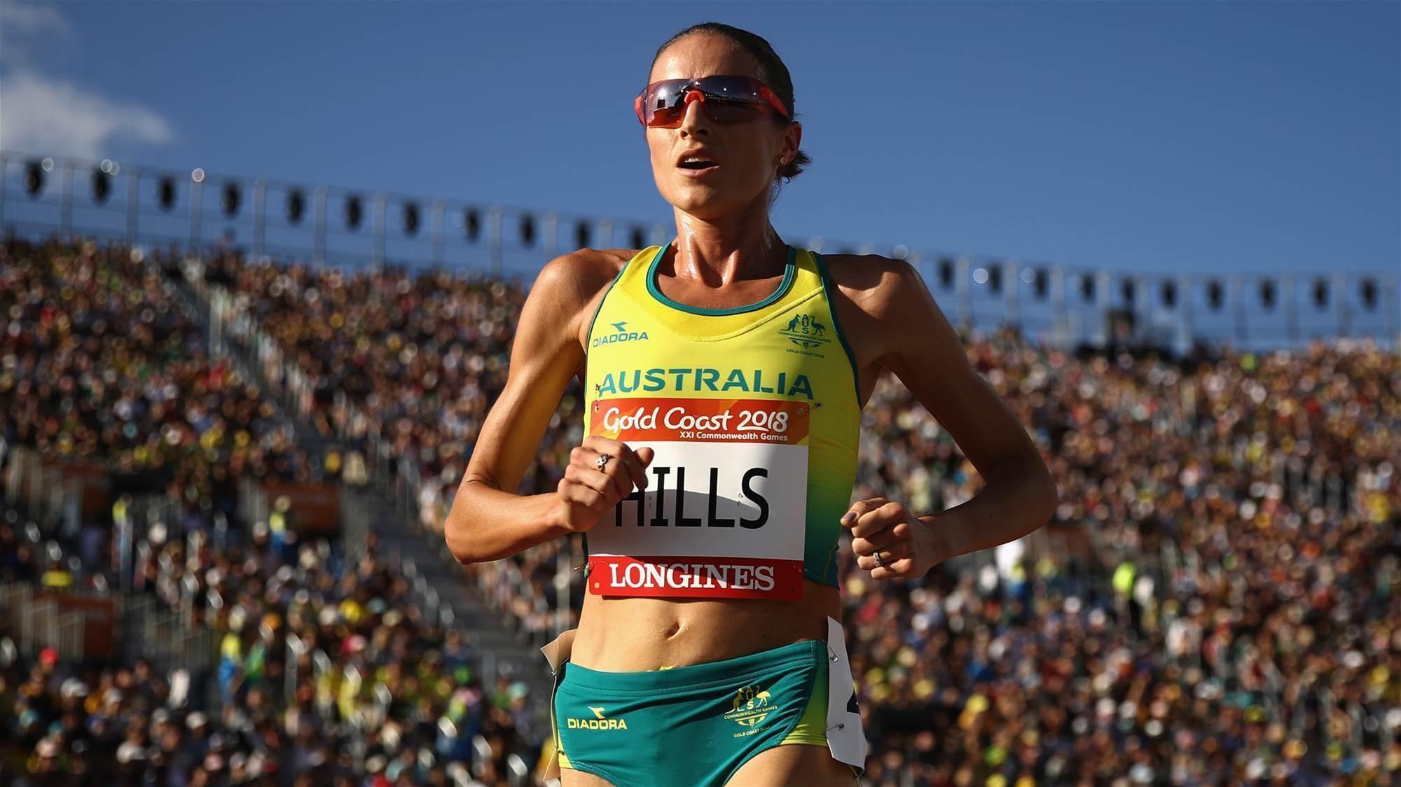 Hills takes out 10km run at Gold Coast Marathon