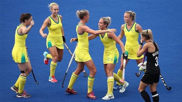 Hockeyroos take out Tri Nations Final