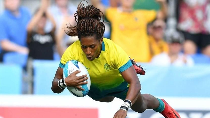 Green stuns but Aussie Sevens falter
