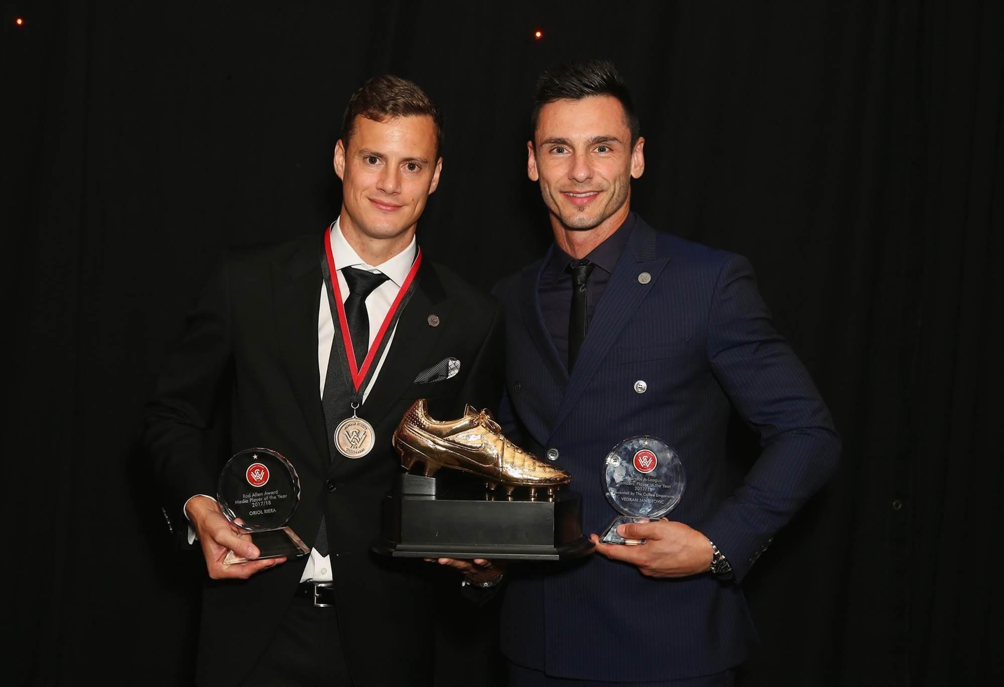 Riera wins top Wanderers award