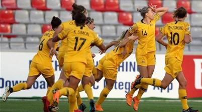 Matildas learn Olympic qualifying group