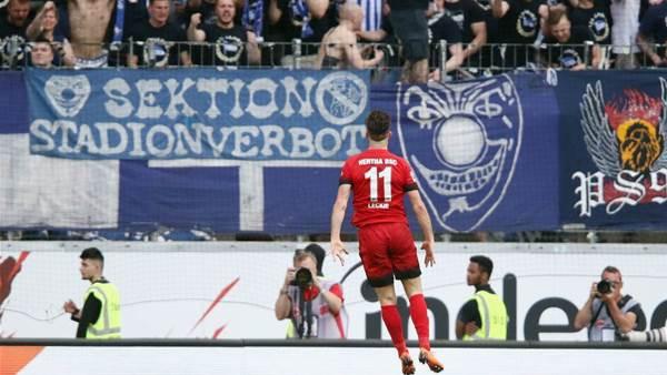 Leckie breaks goal scoring drought