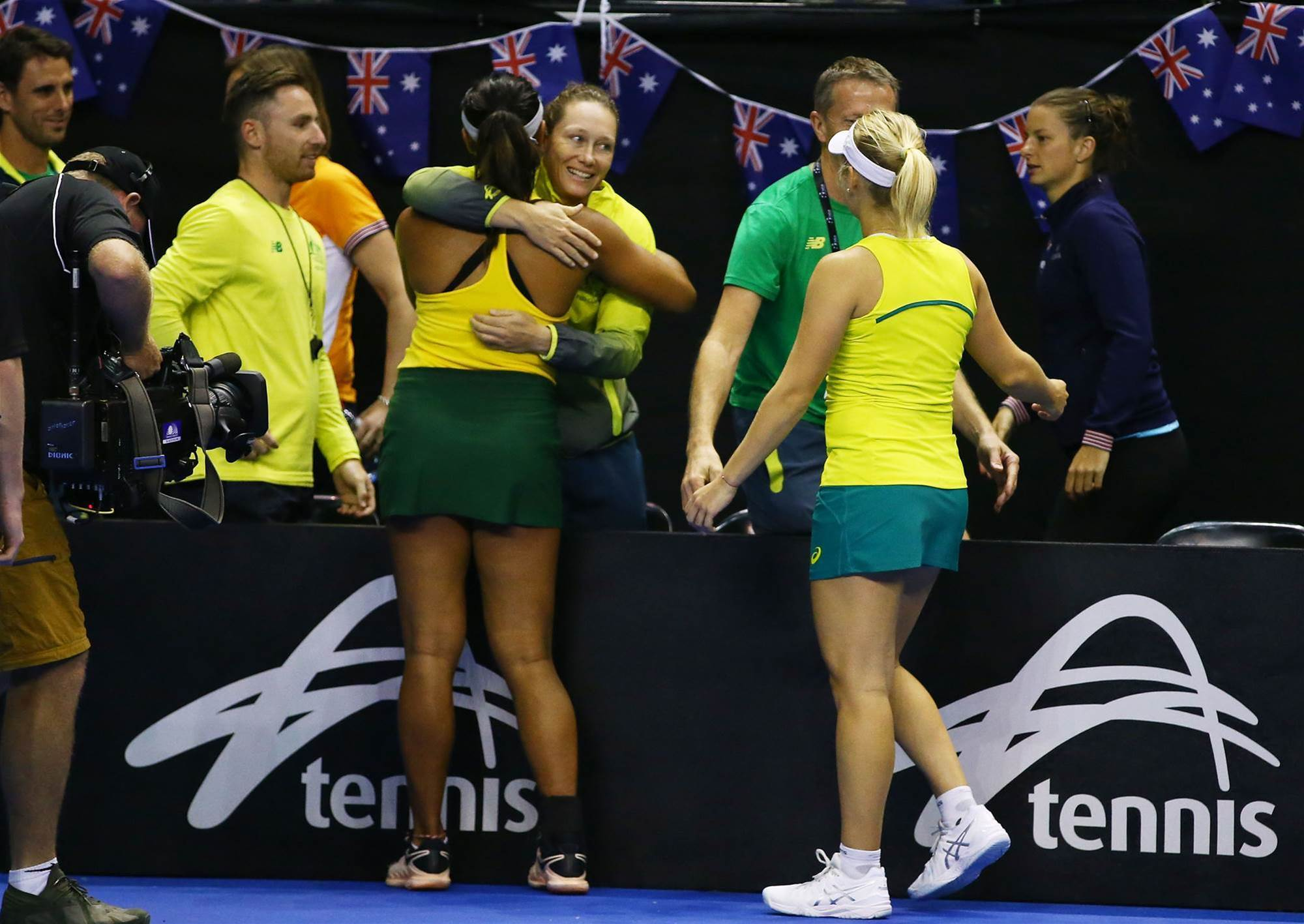 Australia to face USA in Fed Cup