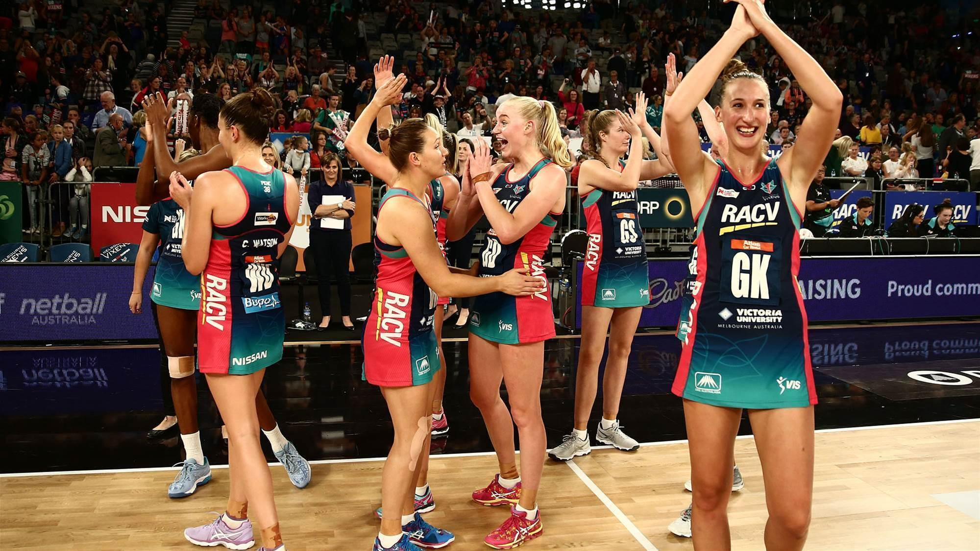 Vixens to take lessons away from win