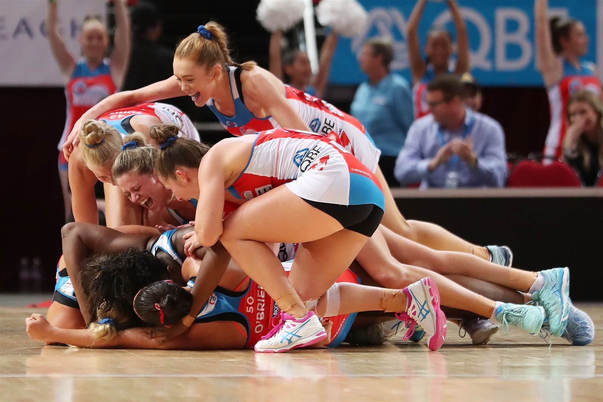 NSW Swifts find new hero on debut