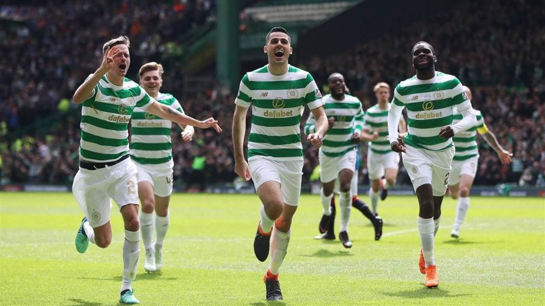 Toilet roll challenge? Rogic does it with 'physio tape'