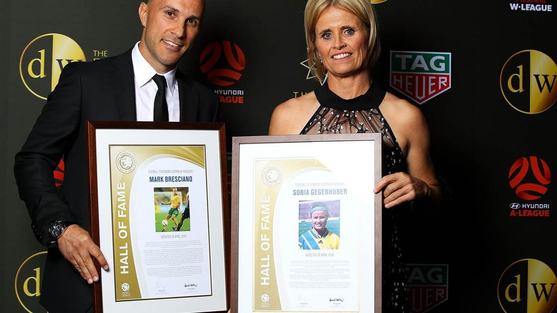 Bresciano, Gegenhuber and Dettre inducted into Hall of Fame