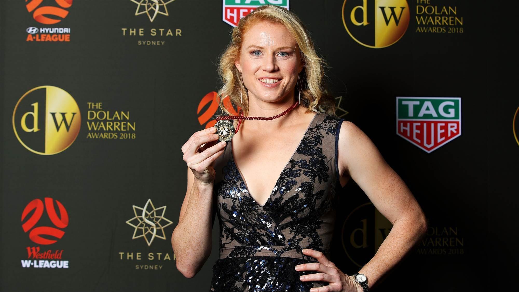 Polkinghorne and Kerr win the Julie Dolan Medal
