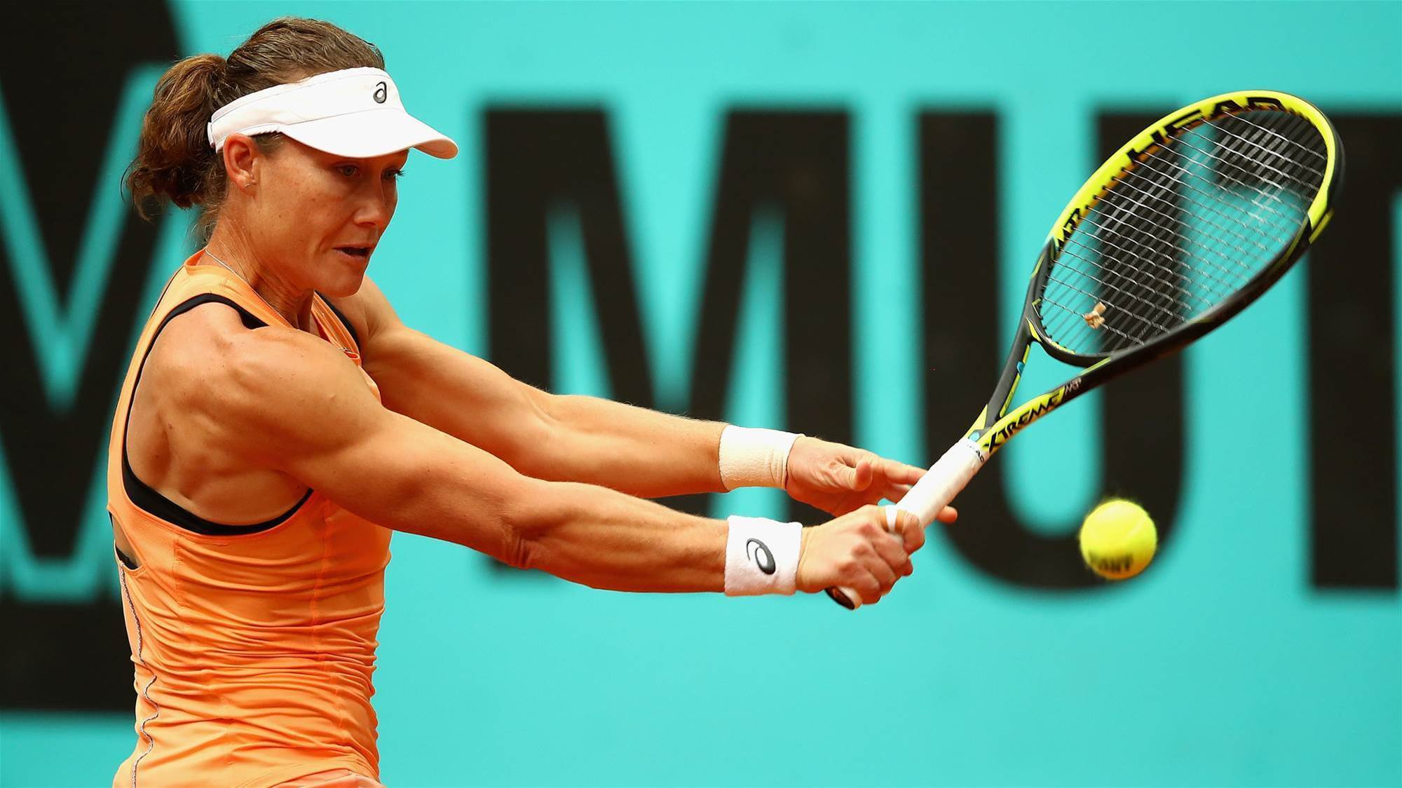 Stosur out of Mallorca Open