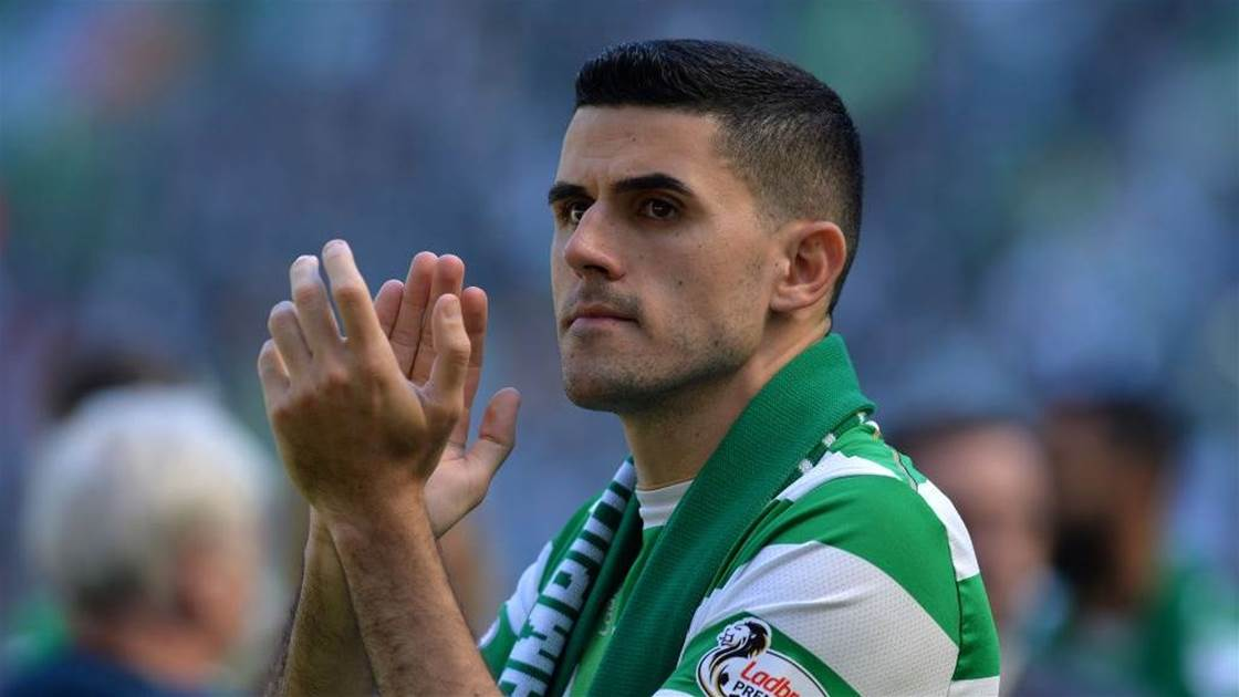 Celtic fans uproar after Rogic inexplicably left out of squad