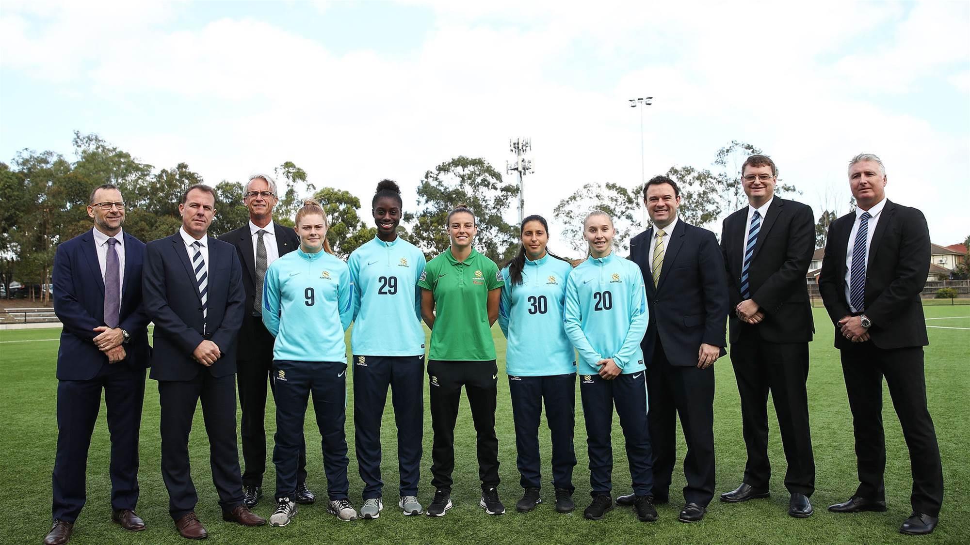 Bridging the gap: Taking a dive into the Future Matildas