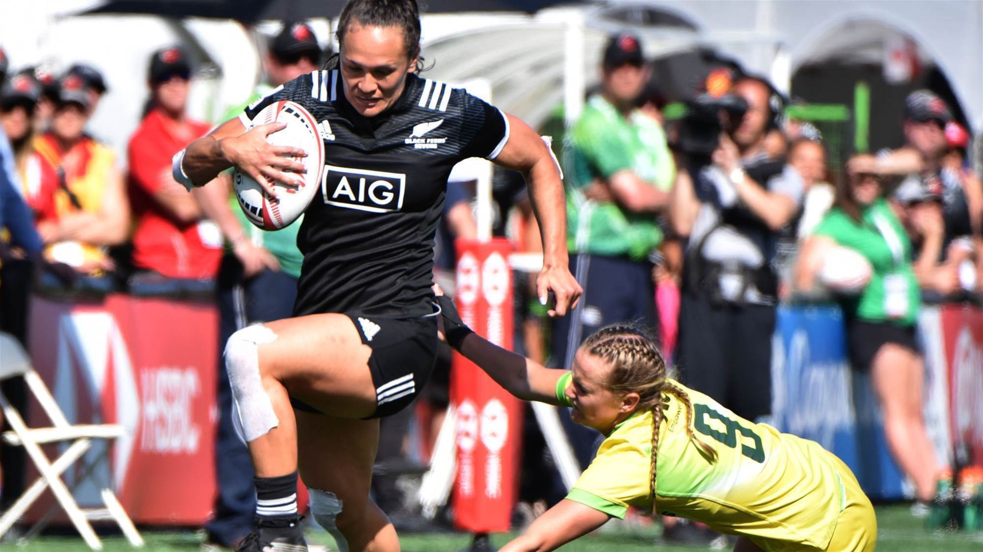 Aussie 7s settle for silver in Canada