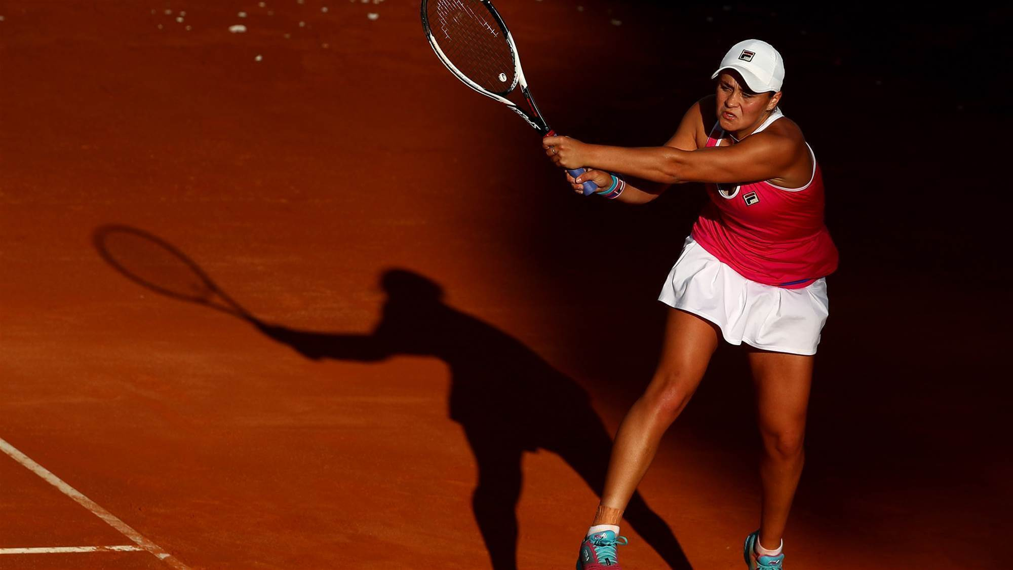 Barty forced to retire in semi