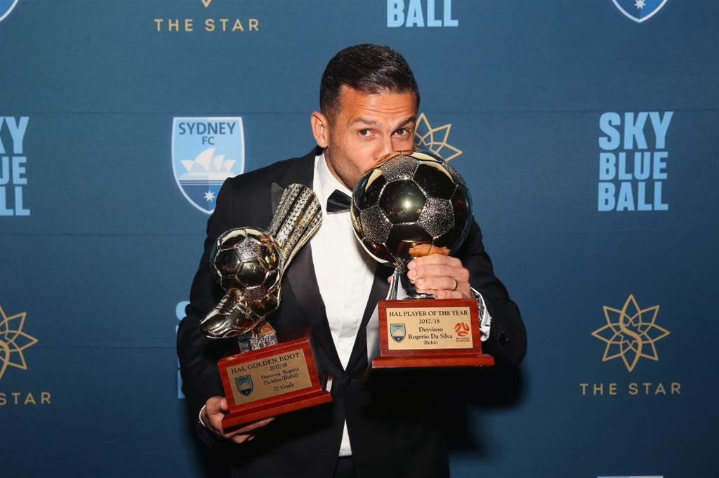 Bobo, Logarzo sweep Sky Blue awards