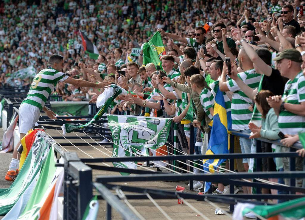 WATCH: Celtic fans re-work 'Land Down Under' in touching Rogic tribute
