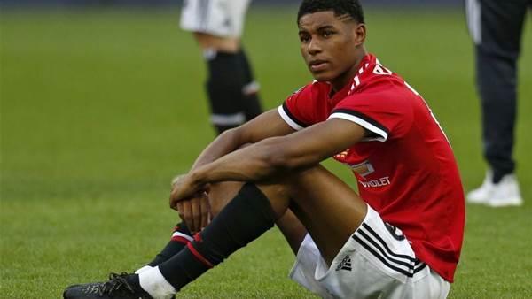 Rashford to resume training after knee injury