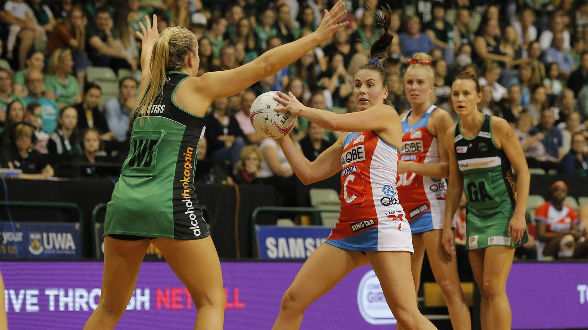 Fever prove Swifts wrong