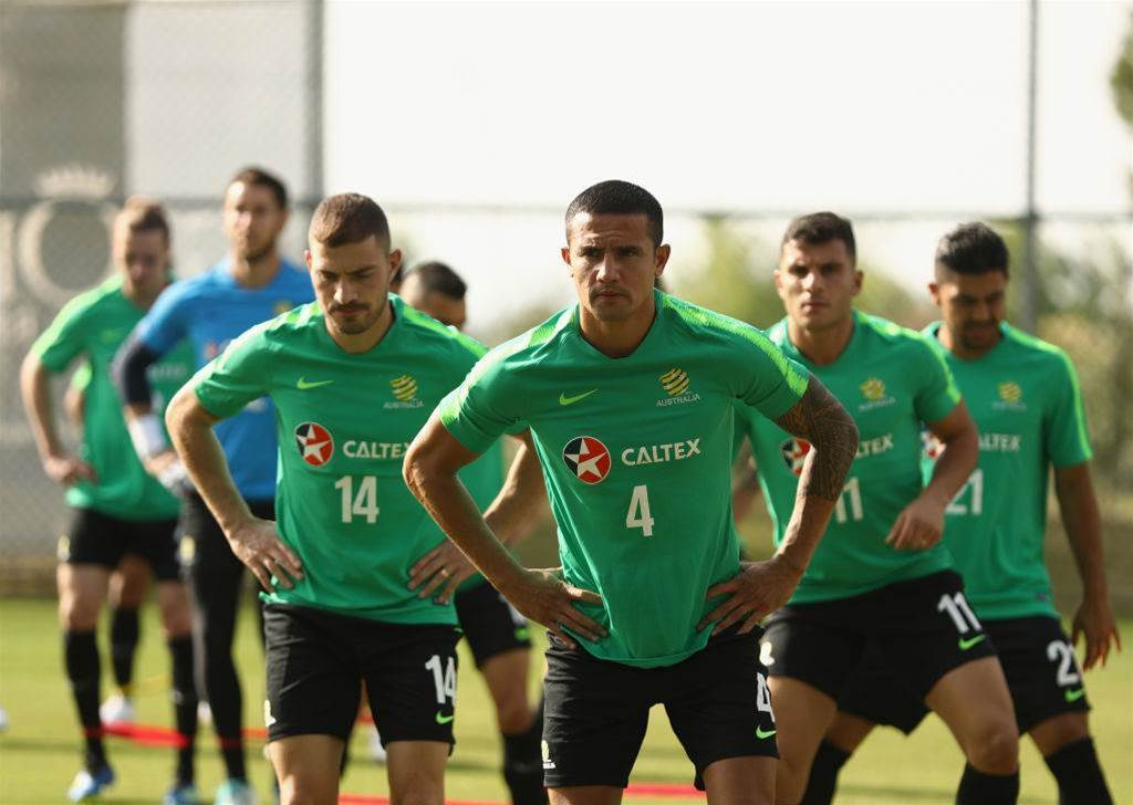 """Socceroos touch down in Turkey with """"world first technology"""""""