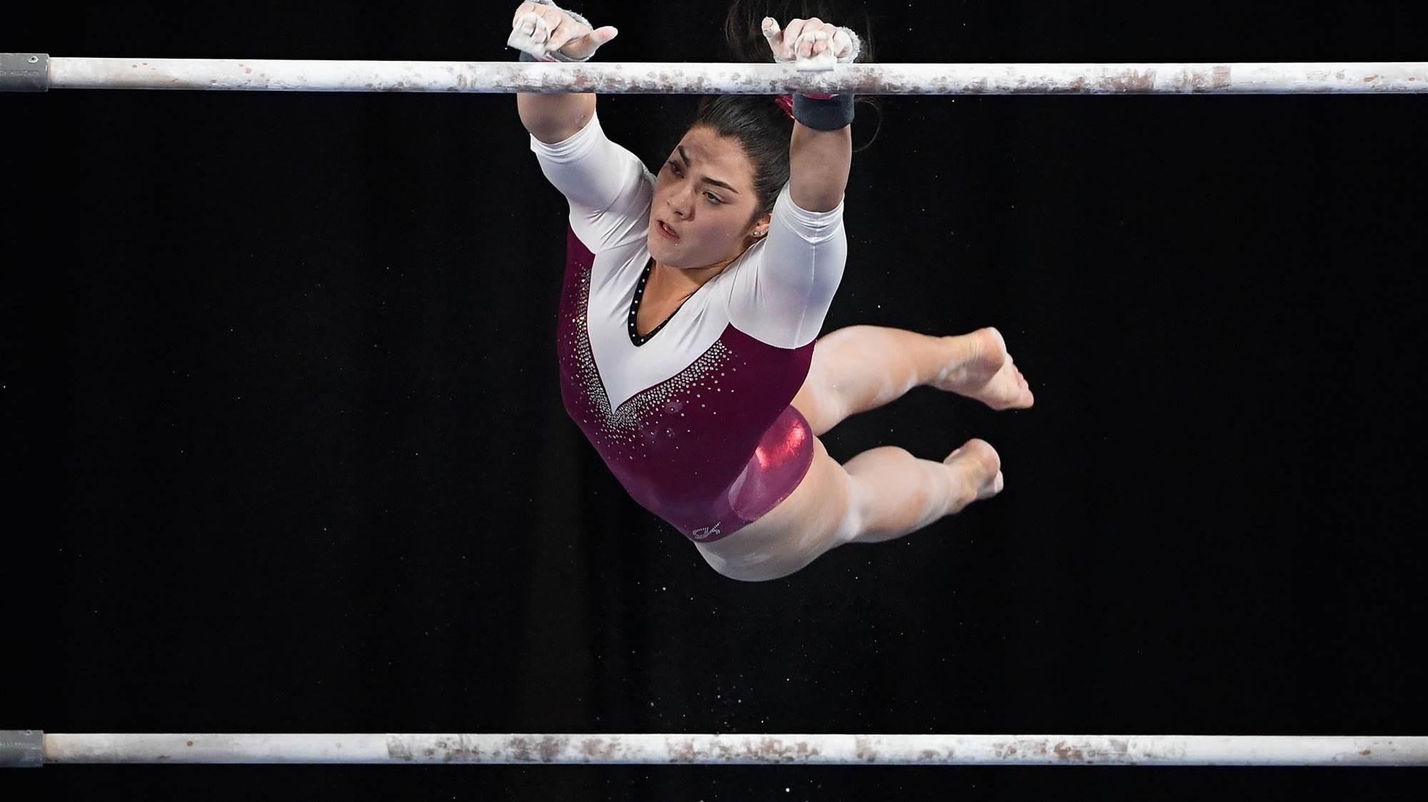 Godwin dominates at Gymnastics Championships