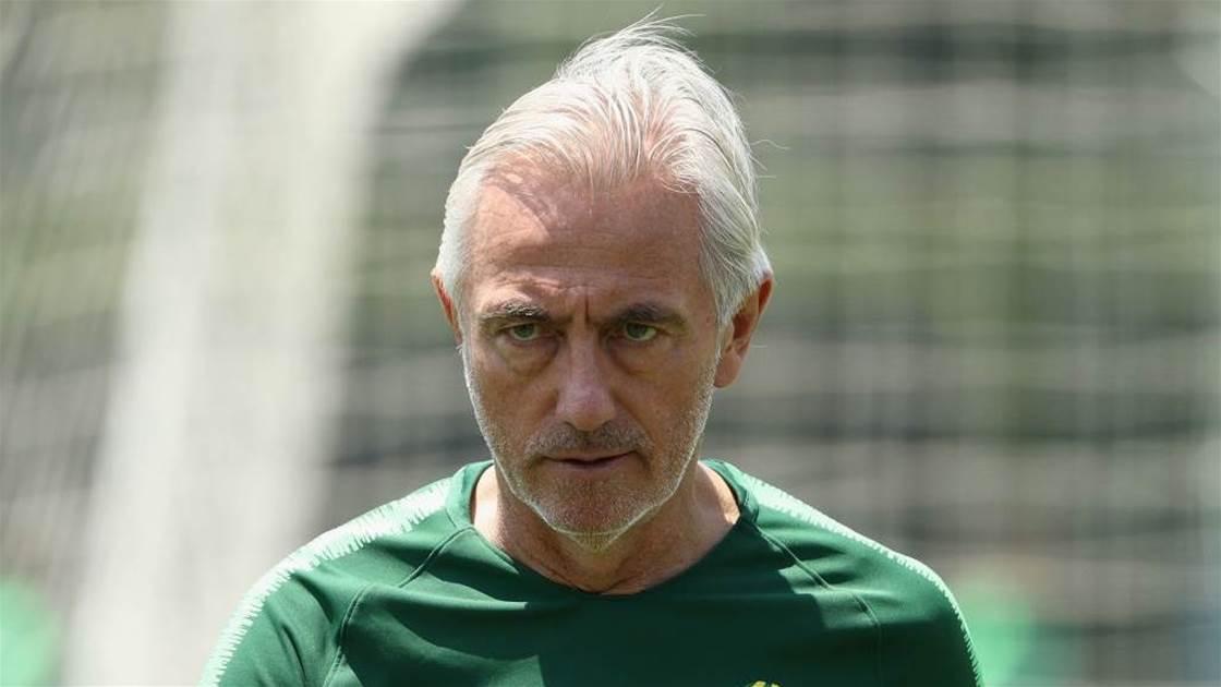 Van Marwijk concerned about Socceroos lack of improvisation