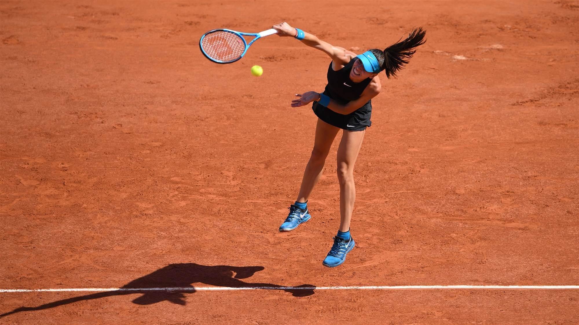 Tomljanovic falls in French Open