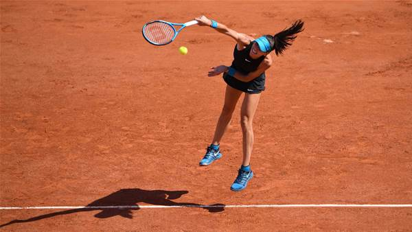 Tomljanovic falls in French Open