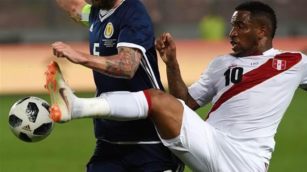 Farfan on Target as Peru Beat Scotland 2-0
