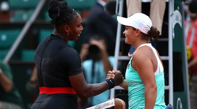 Barty downed by Williams