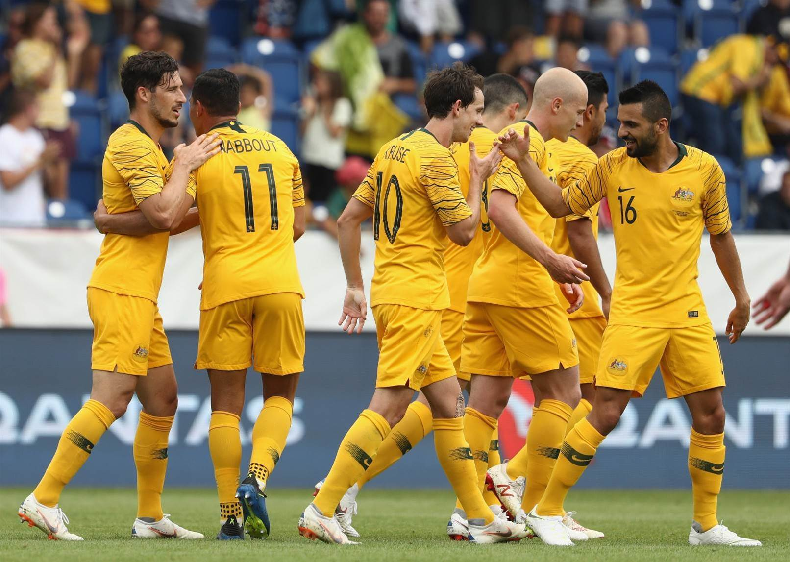 Seven Forwards Make It to Australia's 2018 FIFA World Cup