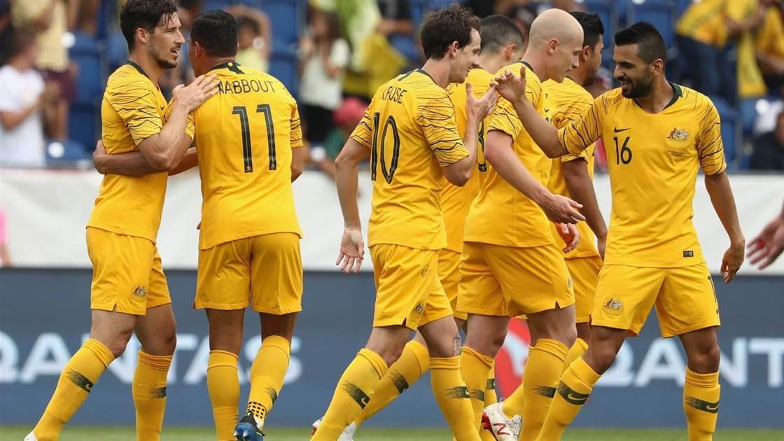 Seven Forwards Make It to Australia's 2018 FIFA World Cup