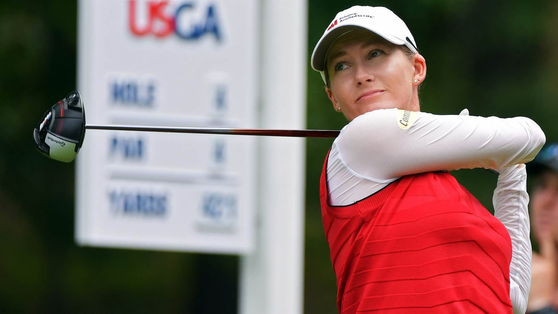 Smith increases U.S Women's Open lead