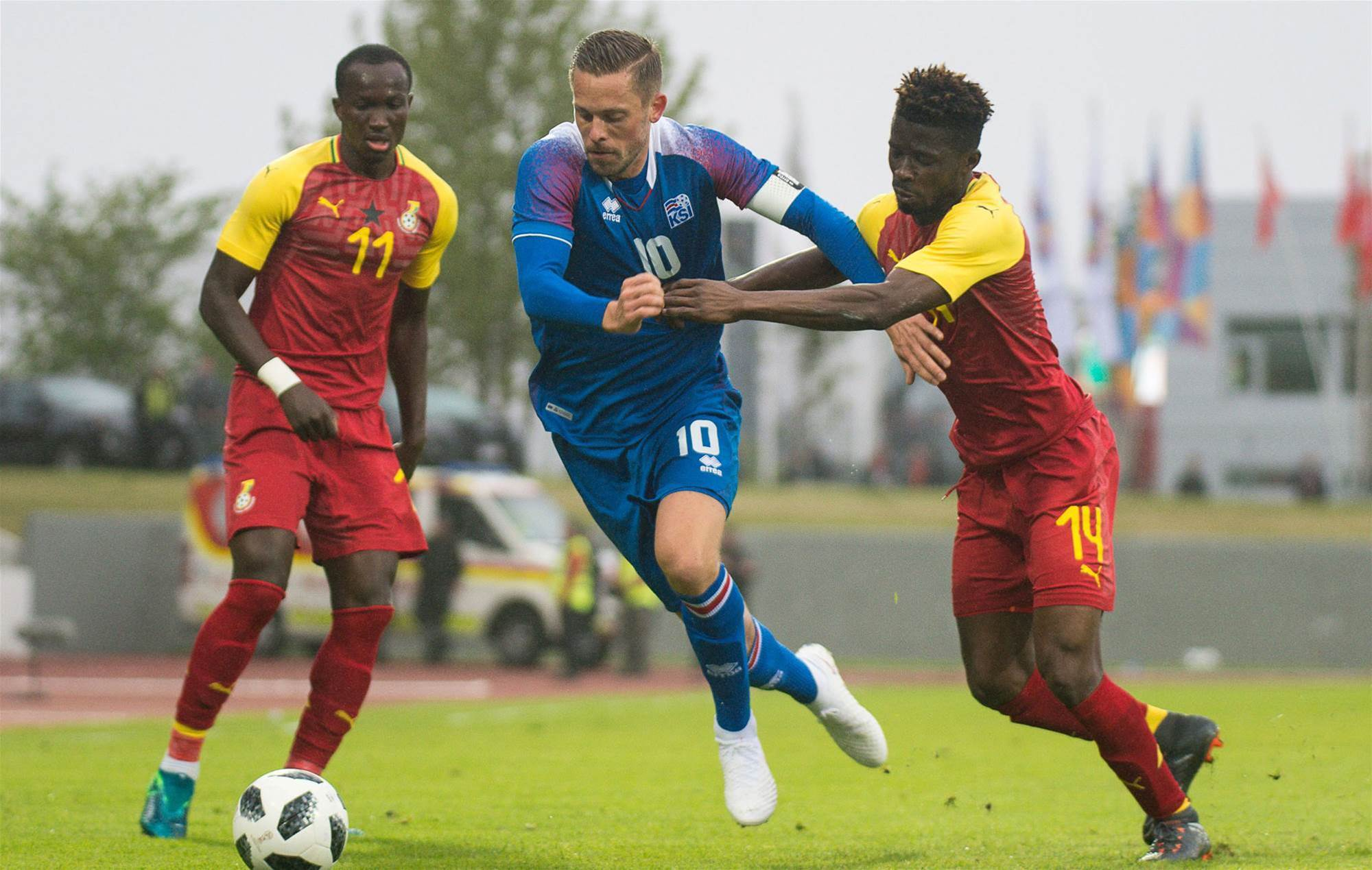 Iceland Held to 2-2 draw by Ghana