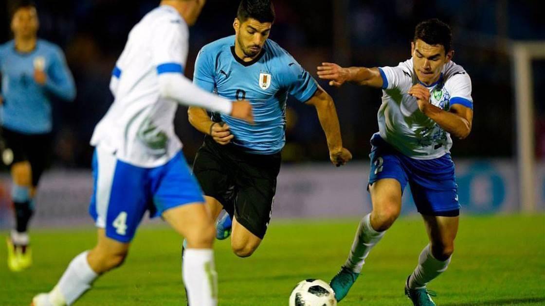 Uruguay defeat Uzbekistan 3-0 in WC warm-up