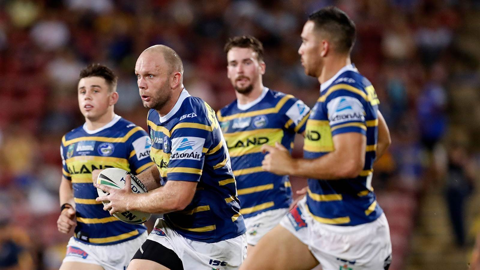 Parramatta Eels pounce on four
