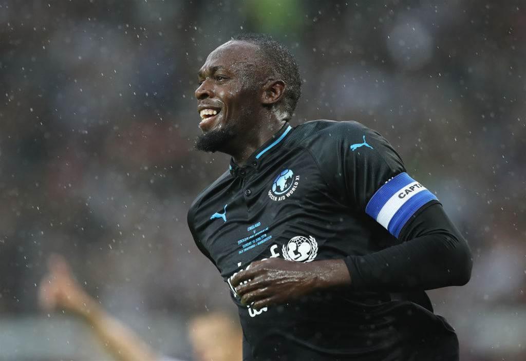 Central Coast Mariners confirm Usain Bolt talks