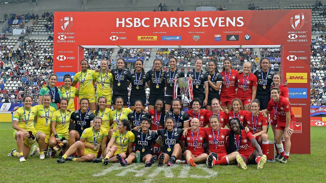 Aussies pick up awards after Sevens Series