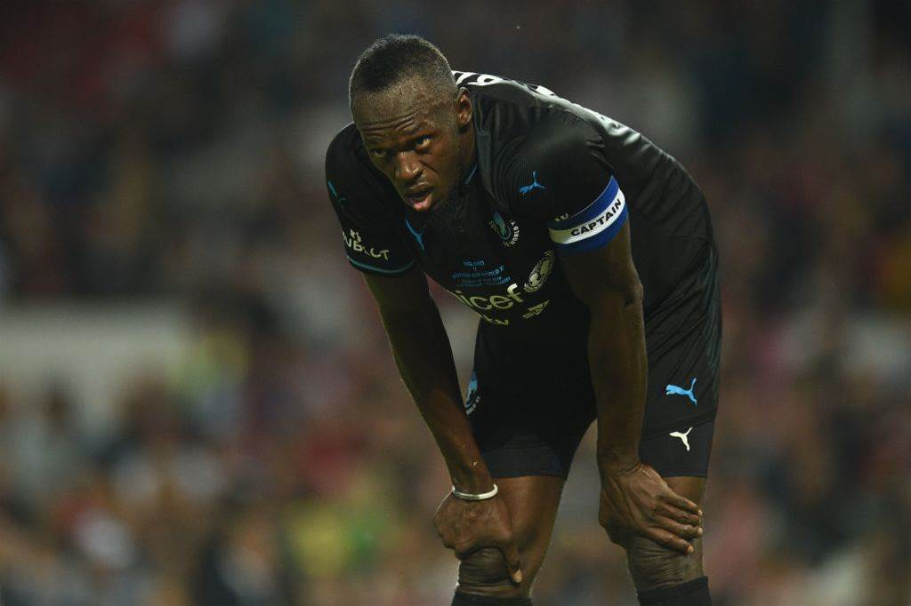 Watch out I'm on the way! Usain Bolt links with Mariners